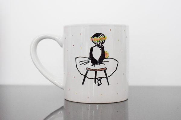 atelier créatif customiser mug en porcelaine