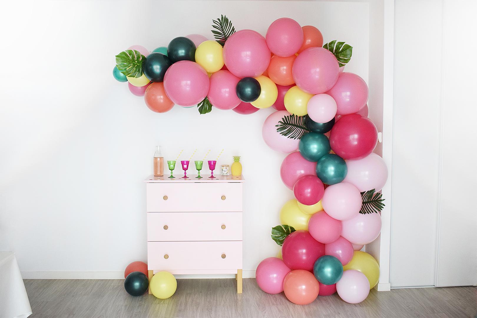 décoration ballons anniversaire Tours