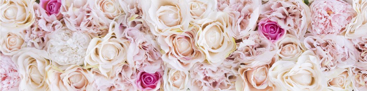 Lettres Géantes LOVE fleurs