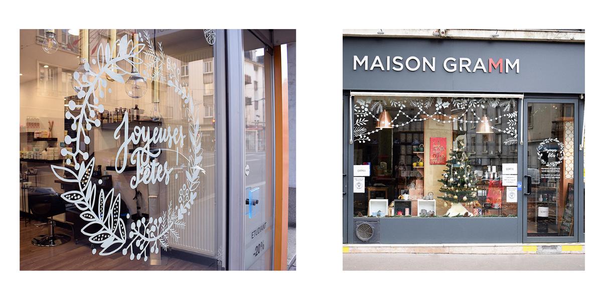 décoration vitrine tours blois orléans angers